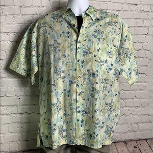 917cdc10 Island Republic Hawaiian Button Down Shirt Large